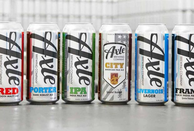 Axle Brewing Beers